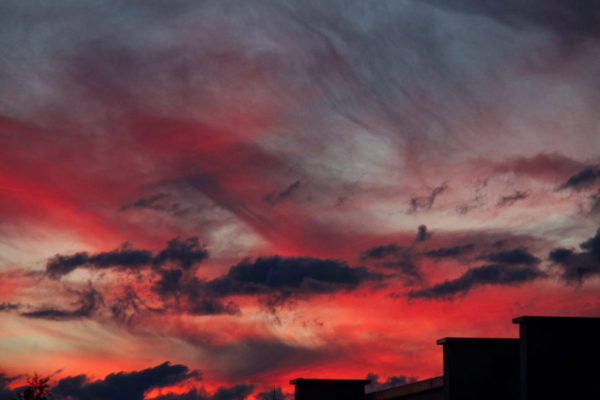 Abendhimmel in Villingen-Schwenningen ©AW-Anja-Bronner